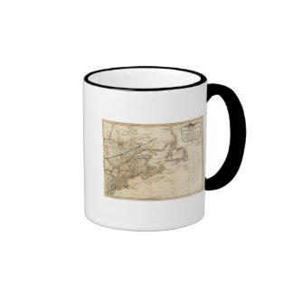 Un mapa general de las colonias británicas septent taza