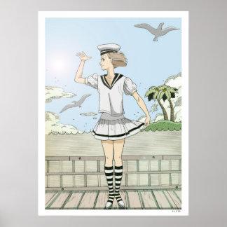 Un marinero poster