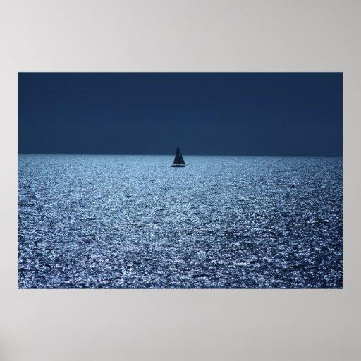 Un marinero solo póster