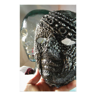 Un Masked Stationery Design