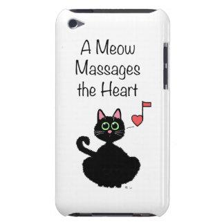Un maullido da masajes al corazón iPod Case-Mate protector