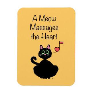 Un maullido da masajes al corazón iman flexible