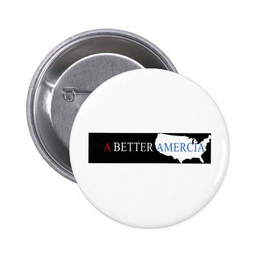 Un mejor Amercia Pin Redondo 5 Cm