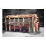 Un mejor autobús escolar de los días en el movimie tarjetas postales