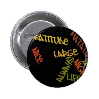 Un mejor botón grande de la vida de noche del día  pin