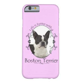 Un mejor caso de Boston Terrier Smartphone de la Funda De iPhone 6 Barely There