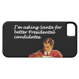 Un mejor chiste de los candidatos presidenciales iPhone 5 funda
