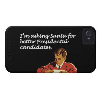 Un mejor chiste de los candidatos presidenciales Case-Mate iPhone 4 carcasa