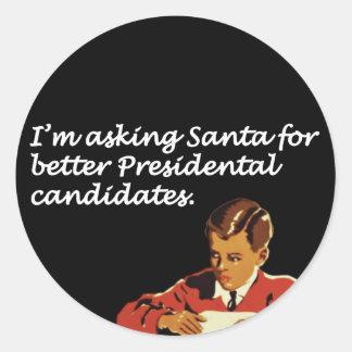 Un mejor chiste de los candidatos presidenciales etiqueta