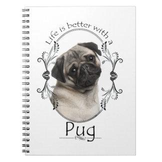 Un mejor cuaderno del barro amasado de la vida