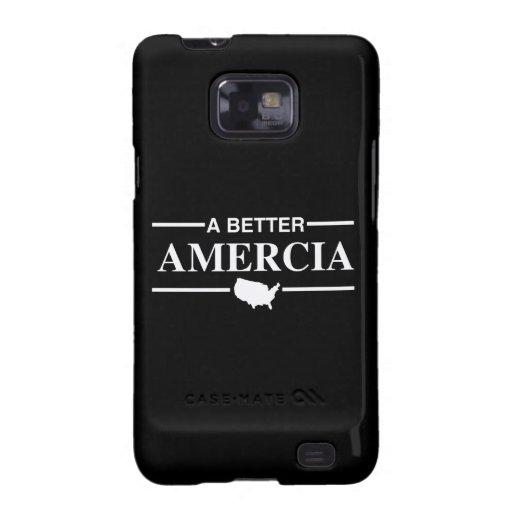 Un mejor logotipo de Amercia - .png Samsung Galaxy SII Fundas
