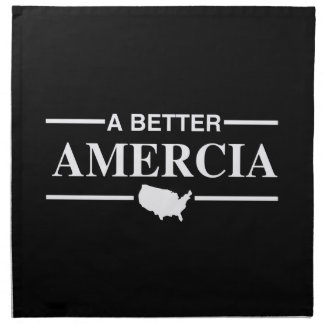 Un mejor logotipo de Amercia - .png Servilletas De Papel