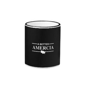 Un mejor logotipo de Amercia - .png Taza