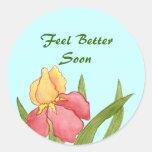 Un mejor pronto pegatina del iris de la sensación