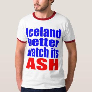 Un mejor reloj de Islandia su CENIZA Playeras