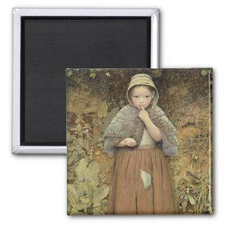Un mendigo en la trayectoria, 1856 imanes para frigoríficos