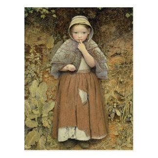 Un mendigo en la trayectoria, 1856 postales