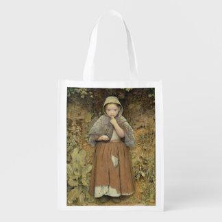Un mendigo en la trayectoria, 1856 bolsa para la compra