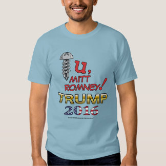 Un mensaje para la camisa 2016 de Romney (mediados