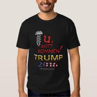Un mensaje para la camisa 2016 de Romney (oscura)
