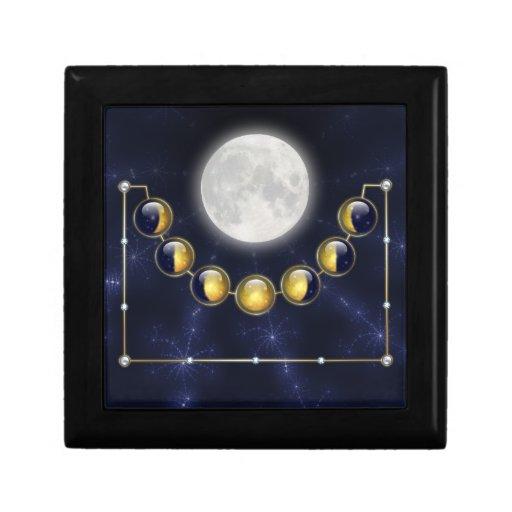 Un mes en la vida de la caja de regalo de la luna