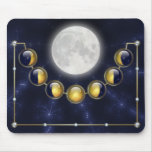 Un mes en la vida de la luna Mousepad Tapetes De Raton