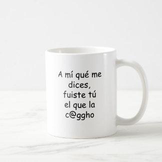 Un MI Que yo corta el La Cago del EL en cuadritos  Taza De Café