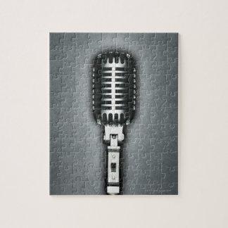 Un micrófono clásico puzzle