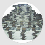 Un millón dólares pegatina