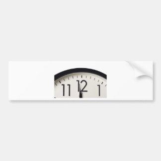Un minuto a la medianoche etiqueta de parachoque