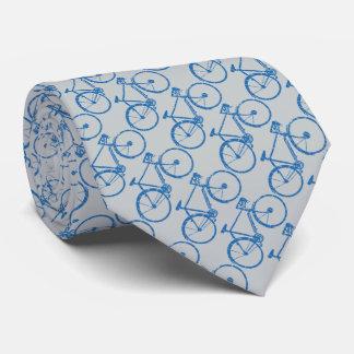 un modelo de bicicletas azules corbata