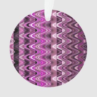 Un modelo de onda rosado colorido abstracto