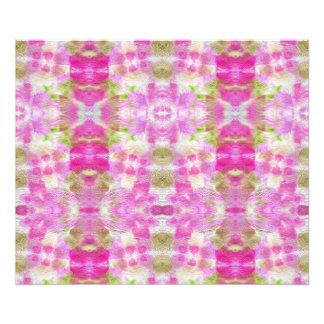 Un modelo de papel rosado abstracto de la acuarela fotografías