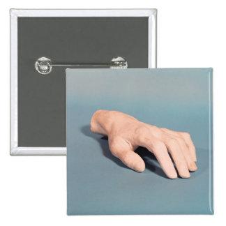 Un molde de la mano de Federico Chopin Pin Cuadrado