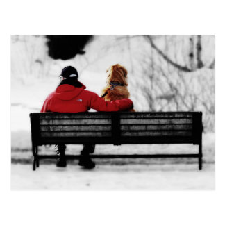 Un momento con el amigo tarjetas postales