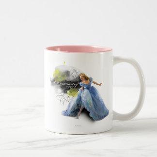 Un momento de magia taza de café de dos colores