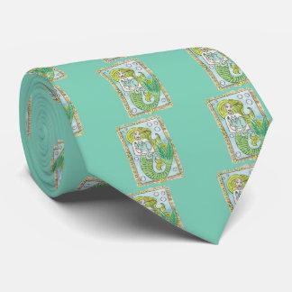 Un momento submarino afortunado corbata personalizada