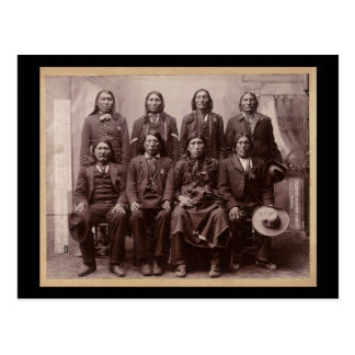 Un montón del ensayo de caballos 1890 tarjetas postales