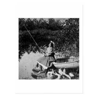 Un mordisco leve - vintage Stereoview 1906 B&W Tarjeta Postal