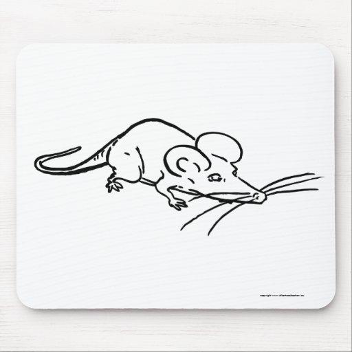 un mousePadmouse cómico del ratón Alfombrillas De Ratones