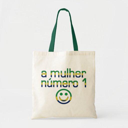 Un Mulher Número 1 - esposa del número 1 en brasil Bolsas De Mano