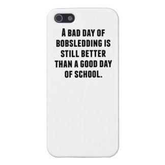 Un mún día de Bobsledding iPhone 5 Protectores