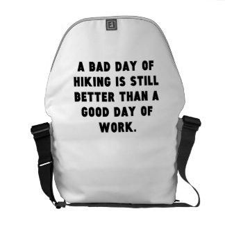 Un mún día de caminar bolsas de mensajeria