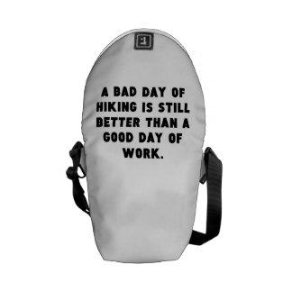 Un mún día de caminar bolsa de mensajeria