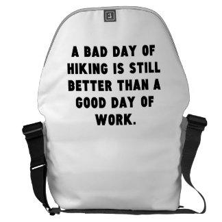 Un mún día de caminar bolsas de mensajería