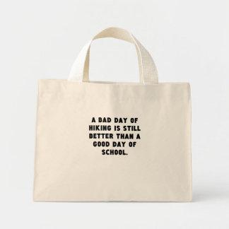 Un mún día de caminar bolsa tela pequeña