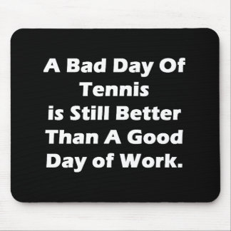 Un mún día de tenis alfombrilla de raton