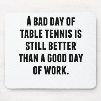 Un mún día de tenis de mesa alfombrilla de ratón