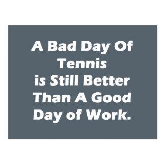 Un mún día de tenis postales
