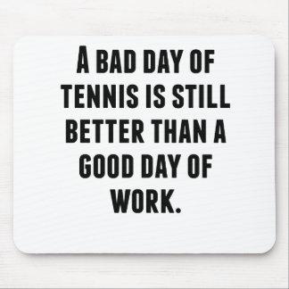 Un mún día de tenis alfombrilla de ratón